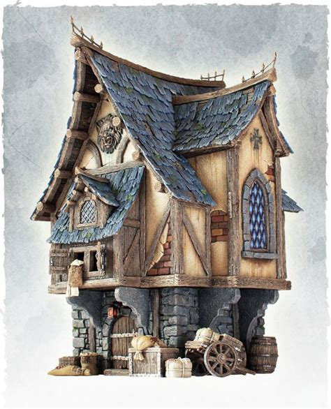 Cool Looking Scale Model Of A Merchant's House A Great