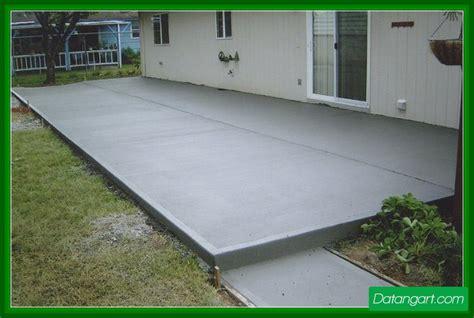 painting concrete patio slab design idea home landscaping