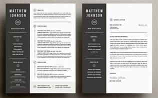 free graphic design resume template microsoft word the best cv resume templates 50 exles design shack