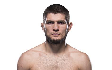 khabib nurmagomedov perfil oficial  lutador  ufc