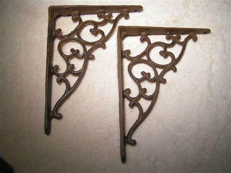 Corner Corbels by 4 Cast Iron Wall Shelf Brackets Corner Corbels Braces Bz