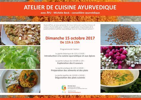 cuisine ayurvedique atelier de cuisine ayurvedique le dimanche 15 octobre de 11h à 15h à st georges d 39 orques âyu