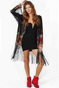 Fire Rose Fringe Kimono J love this one too | Wardrobe | Pinterest | Fringe kimono Kimonos and ...