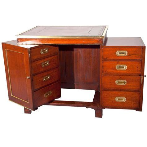 antique mahogany campaign desk furniture campaign