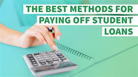 ways  pay  student loans gobankingrates