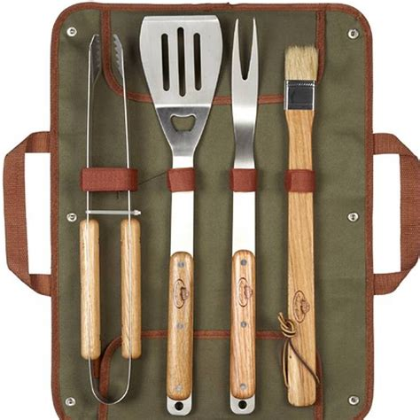 personalised barbecue tools gift set by thelittleboysroom