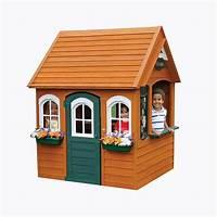 playhouses for kids KidKraft Bancroft Wooden Playhouse-P280080X - The Home Depot