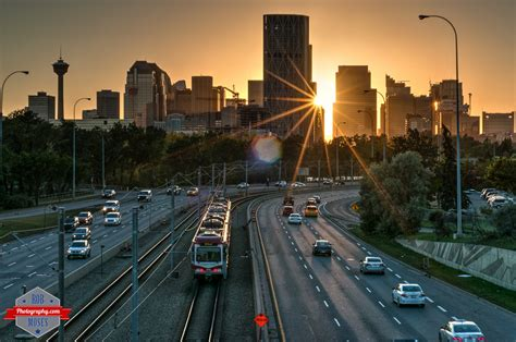 Sunset Over Calgary | Rob Moses Photography