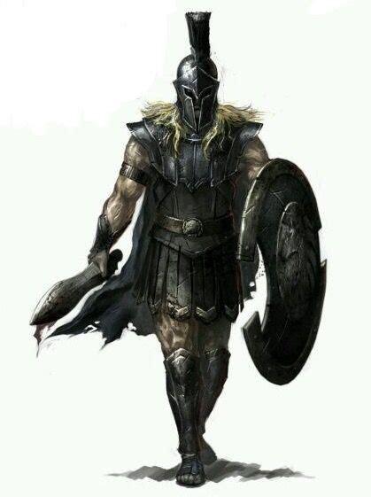 Pin by DJ on Fantasy NPC's | Warrior, Spartan warrior ...