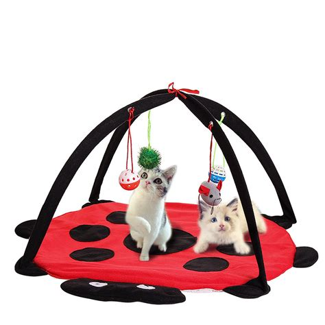 cat play mat pet cat play bed activity tent exercise kitten