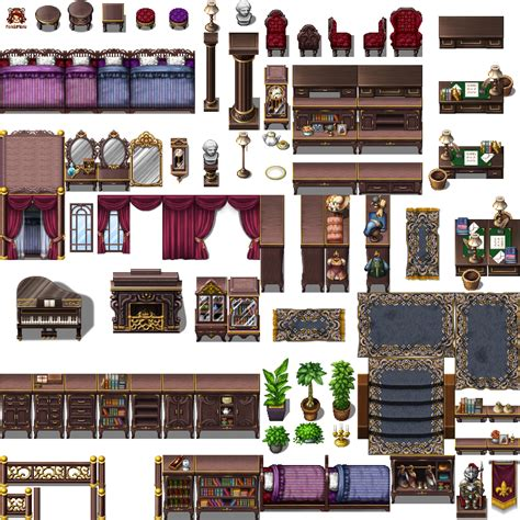 Modern Tilesets RPG Maker MV | Mungfali
