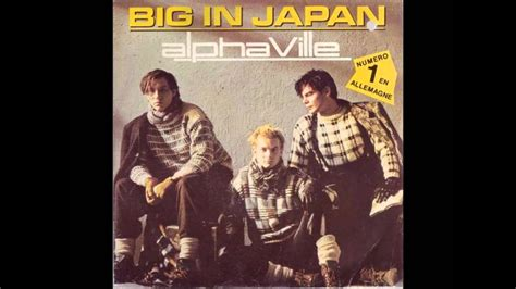 Japan Bid Alphaville Big In Japan 2009 Ultrasound Retro Remix