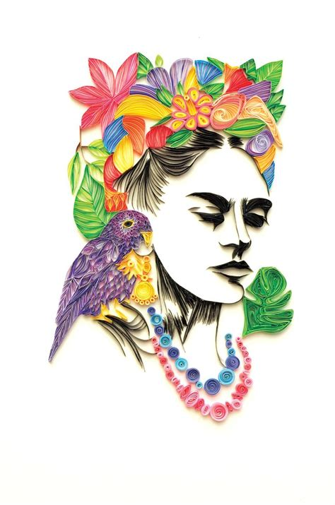 Die Besten 25+ Dibujos De Frida Kahlo Ideen Auf Pinterest