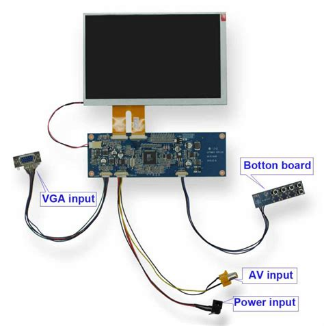 Lcd Monitor Power Supply Board Circuit Diagram