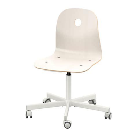 Ikea White Office Swivel Chair by V 197 Gsberg Sporren Swivel Chair White Ikea