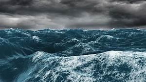 Dark Ocean Waves - Bing images