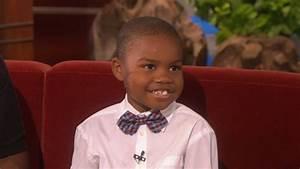 Ellen Meets the 'Exasperating' Kid! - YouTube  Kid