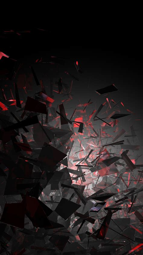 3d Wallpapers Iphone 11 by Broken Pieces Tap To See More Cool 3d Abstract Iphone