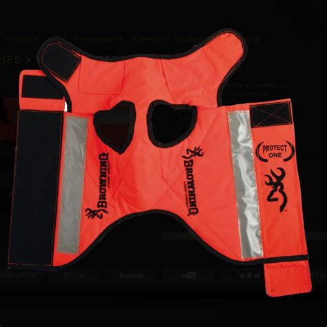 recouvrement siege auto gilet protection pour chien protect one browning cano concept