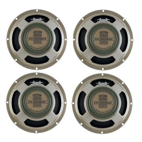 10 celestion guitar speakers