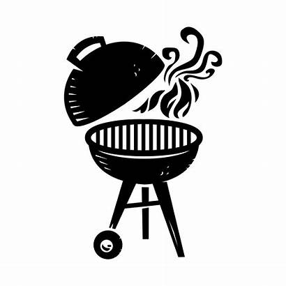 Grill Bbq Vector Icon Clipart Illustration Royalty