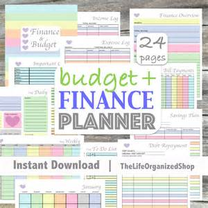 Budgeting Sheets Template Budget Planner Finance Planner Finance Binder Budget