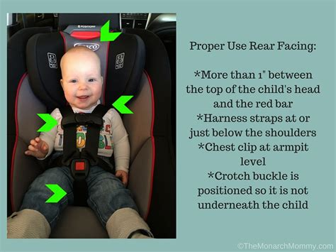 Proper Car Seat Strap Placement Brokeasshomecom