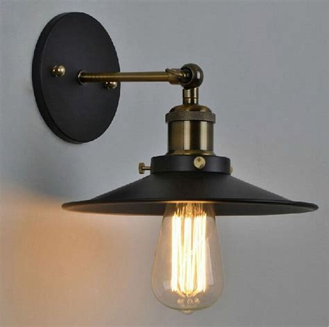 led wall l retro light diy lighting industrial country