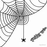 Spider Web Corner Coloring Spiderweb Simple Halloween Borders Printable Pumpkin Graphics Cool2bkids Clipartmag Getcolorings sketch template