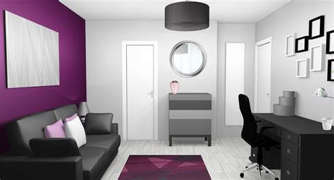 chambre violet aubergine best idee deco chambre gris et mauve gallery awesome