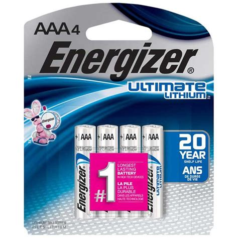 Energizer L92SBP4 AAA Lithium Battery, 4Pack Location
