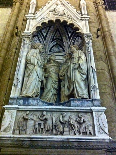 Nanni Di Banco Orsanmichele Sculpture On Facade With Four Crowned