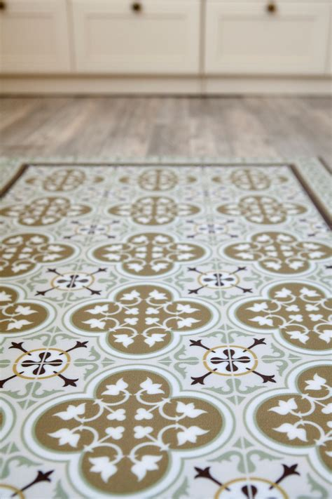 deco tiles linoleum rug rugs ideas
