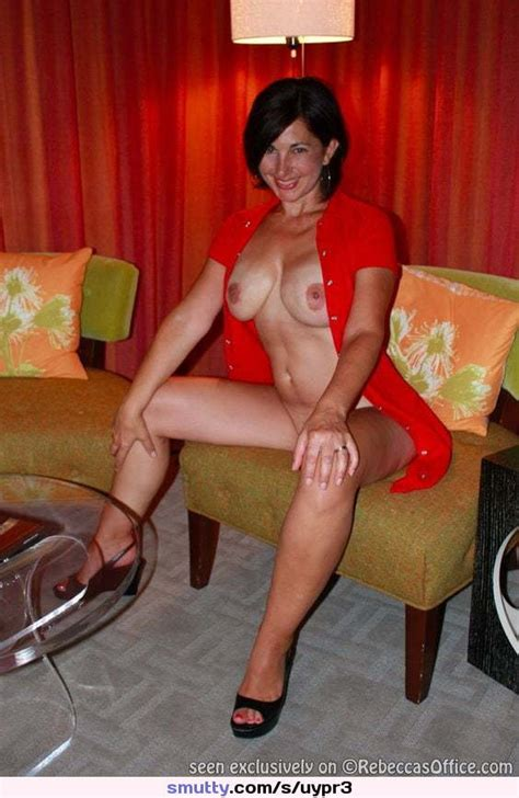 Milf Tits Boobs Mature Bigtits Outside Outdoors Lingerie