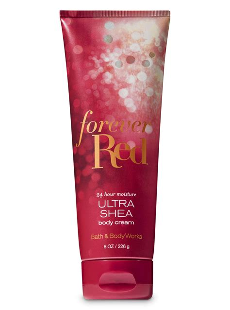 bath body works  red ultra shea body cream