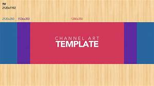 YouTube Channel Art Template | ytt