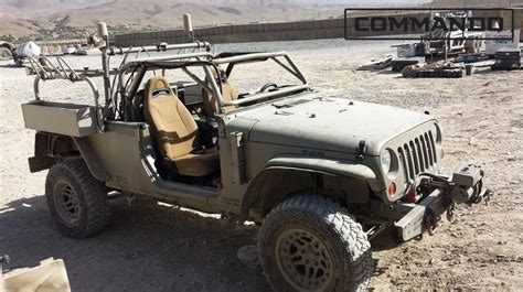 Commando Jeep Tactical Vehicle