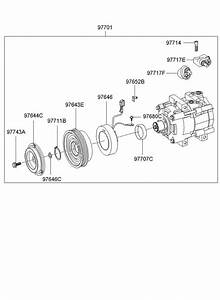 2003 Hyundai Santa Fe Disc  U0026 Hub Assembly