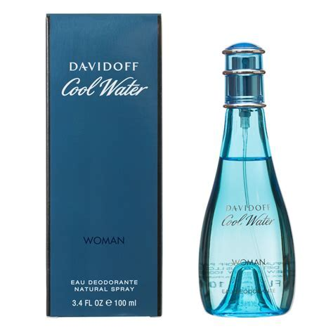 Davidoff Cool Water Woman 100ml   Cheap Womens Fragrances