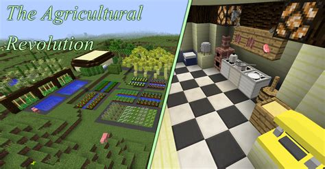 Minecraft Kitchen Mod 1 7 10 Wiki by Overview The Agricultural Revolution Mods Projects