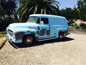 1956 Ford F100 Panel For Sale In Lake Elsinore  California