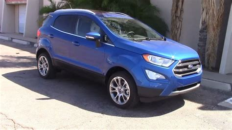 ford ecosport suv performance fuel economy test