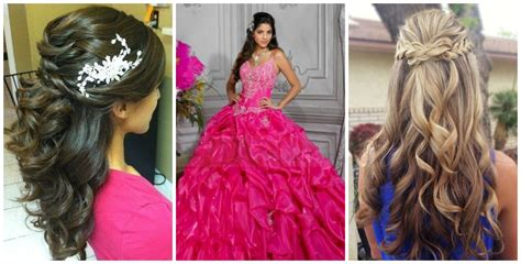 The Perfect Quince Hairstyle For Your Dress!