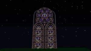 Fantasy stained glass cathedral(WIP) Minecraft Project