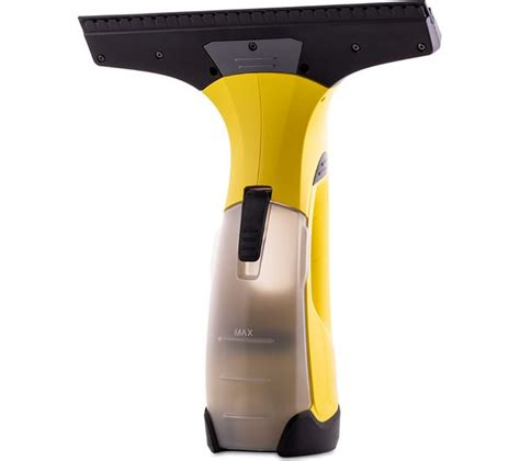 karcher wv2 plus buy karcher wv2 plus window vacuum cleaner yellow free delivery currys