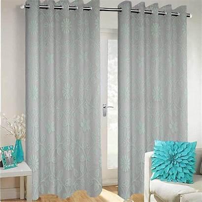 Curtains Dining Living Semi Grommet Voile Transparent
