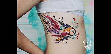 Tatouage Poisson  Plonger Dans L'encre !  Tattoome Le