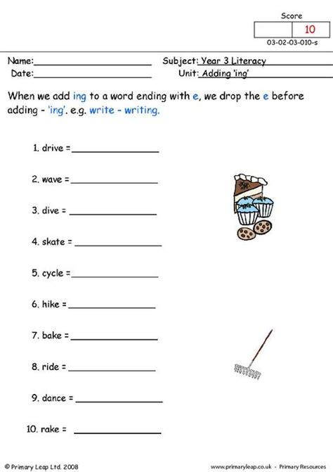adding ing to words worksheets free worksheets library