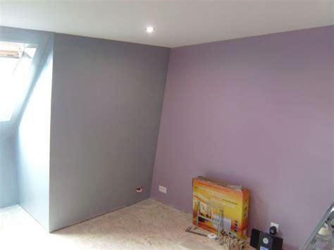 chambre gris et violet peinture mur chambre le journal de notre maison n