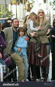 Laura Dern Ben Harper Children Induction Stock Photo ...